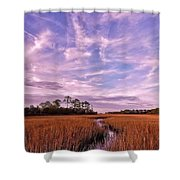 Journey To The Center Of The Universe Shower Curtain