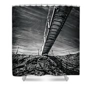 Journey To The Centre Of The Earth Shower Curtain