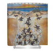 Journey To The Millenium Shower Curtain
