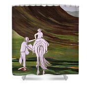 Journey Together Shower Curtain