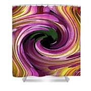 Jowey Gipsy Twirls Shower Curtain