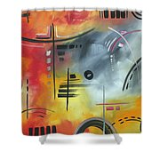 Joy And Happiness By Madart Shower Curtain