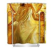 Joy Faith Hope Love II Shower Curtain