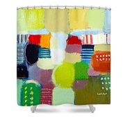Joy N  Peace Shower Curtain
