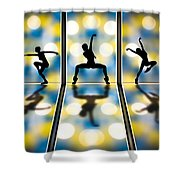 Joy Of Movement Shower Curtain