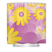 Joy Of Spring Shower Curtain