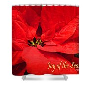 Joy Of The Season Shower Curtain