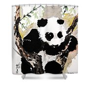 Joyful Innocence Shower Curtain