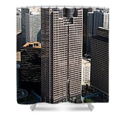 Jp Morgan Chase Tower Dallas Shower Curtain