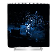 Jt #10 In Blue Shower Curtain
