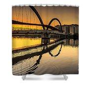 Jubia Bridge Naron Galicia Spain Shower Curtain