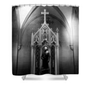 Jude The Apostle Shower Curtain