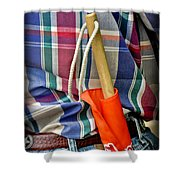 Judge Rodeo Shower Curtain