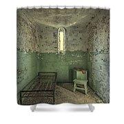 Judgementality Shower Curtain