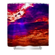 Judgment Day Shower Curtain