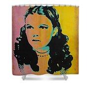 Judy Garland Shower Curtain