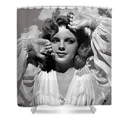 Judy Garland Mgm Publicity Photo Presenting Lily Mars Clarence Sinclair Bull Photo 1943-2014 Shower Curtain