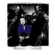 Judy Garland Singing The Man That Got Away A Star Is Born 1954-2014   Shower Curtain