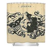 Jugend Jester Shower Curtain