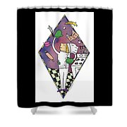 Juggling Chef Shower Curtain