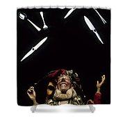 Jester Juggling Shower Curtain
