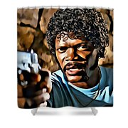 Jules Winnfield Shower Curtain