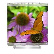 Julia Butterfly 2 Shower Curtain