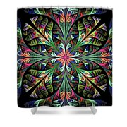 Julia Shower Curtain by Sandy Keeton