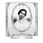 Julia Tyler (1820-1869) Shower Curtain