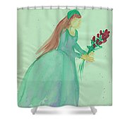 Juliet  By Jrr Shower Curtain