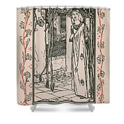 Juliet From Romeo And Juliet Shower Curtain