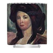 Juliette Drouet (1806-1883) Shower Curtain
