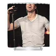 Julio Iglesias Shower Curtain