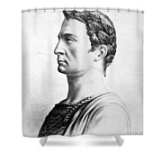 Julius Caesar (100-44 B Shower Curtain