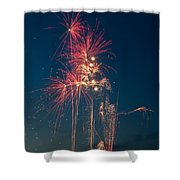 July 4th 2014 3 Shower Curtain by Chad Rowe