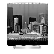 July 7 2014 - Carnival Splendor At New York City - Image 1674-02 Shower Curtain