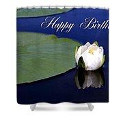 July Birthday Shower Curtain