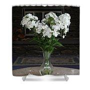 July Bouquet Shower Curtain