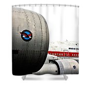 Jumbo Jet Shower Curtain
