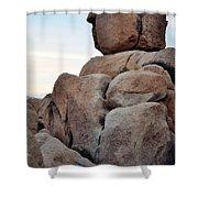 Jumbo Rock Joshua Tree Shower Curtain
