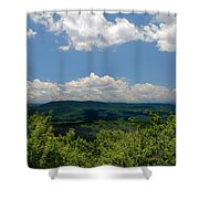 Jump Off Rock Shower Curtain