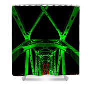 Junction Bridge Shower Curtain