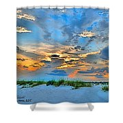 June 2013 Nwfl Sunset I Shower Curtain