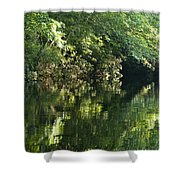 June Morning On The Pawcatuck Shower Curtain