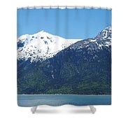 Juneau Port 2 Shower Curtain