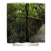 Jungle Bridge Shower Curtain