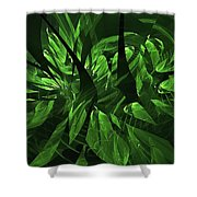 Jungle Clearing  Shower Curtain