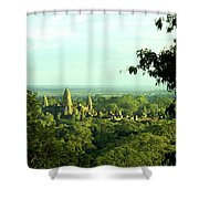 Jungle Temple 01 Shower Curtain