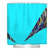 Jungle Twitter Shower Curtain