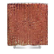Jungles Of Pink Lines Shower Curtain